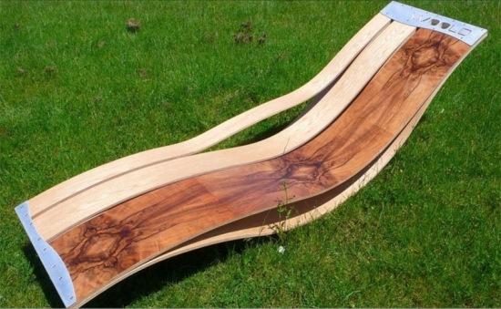 7 ultra moderne Lounge Sessel Designs aus Holz für den Außenbereich - lounge sessel designs holz ausenbereich