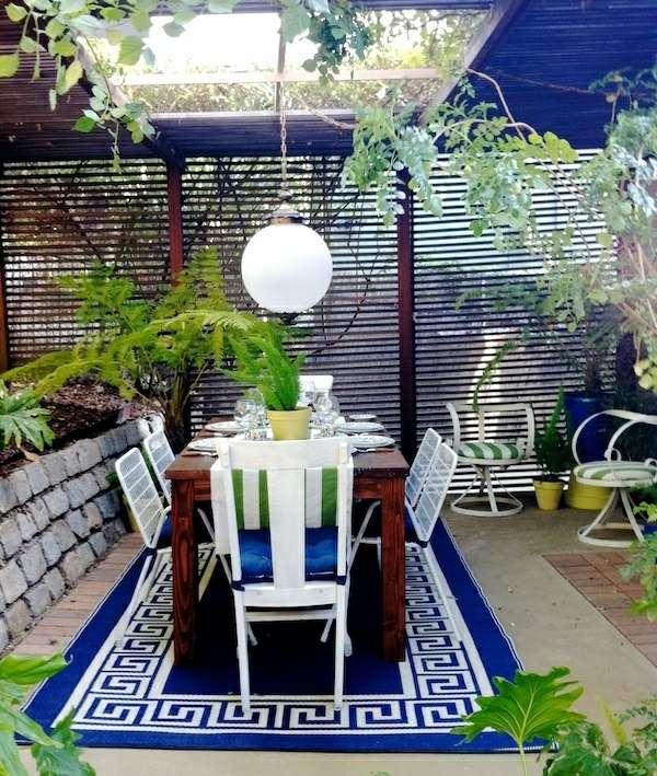 105 Wohnideen Für Esszimmer   Design, Tischdeko Und Essplatz Im Garten   Esszimmer  Gestaltung Ideen