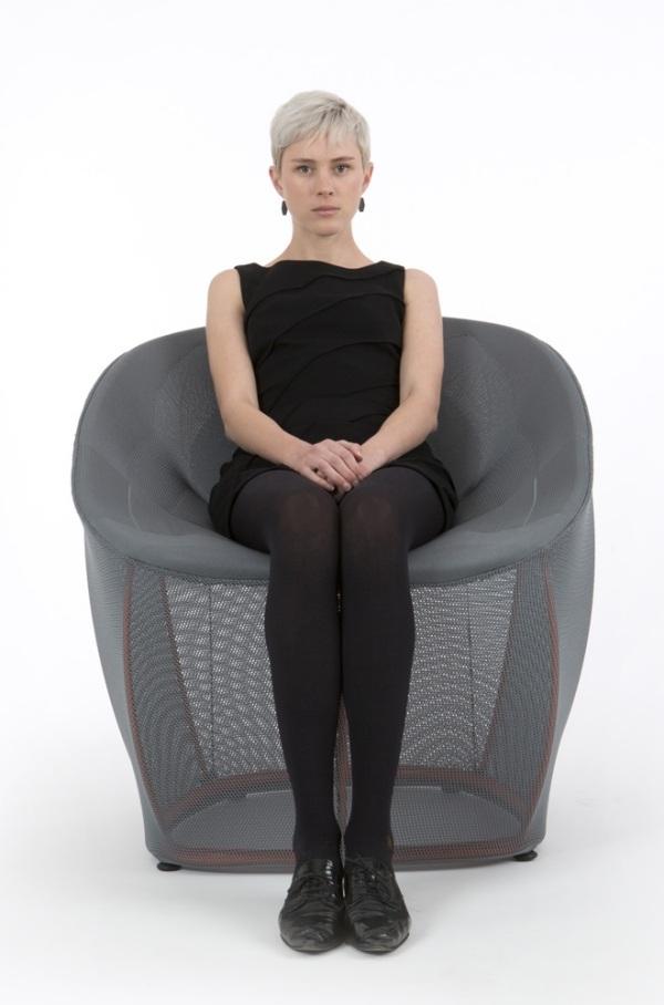 Lounge Sessel Membrane Benjamin Hubert Hwsc   Lounge Sessel Warte Und  Aufenthaltsbereiche