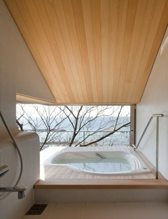 105 Wohnideen für Badezimmer - Einrichtung Stile, Farben \ Deko - dekoration farbe fur dachschragen