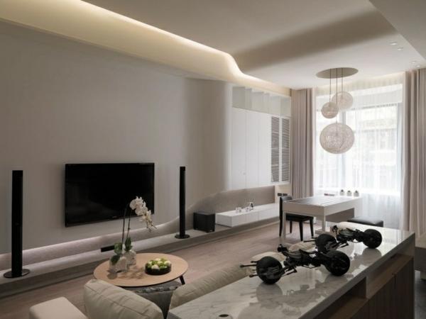 20 Ideen für moderne Wohnzimmer - Einrichtung in neutralen Farben - wohnzimmer farben fotos