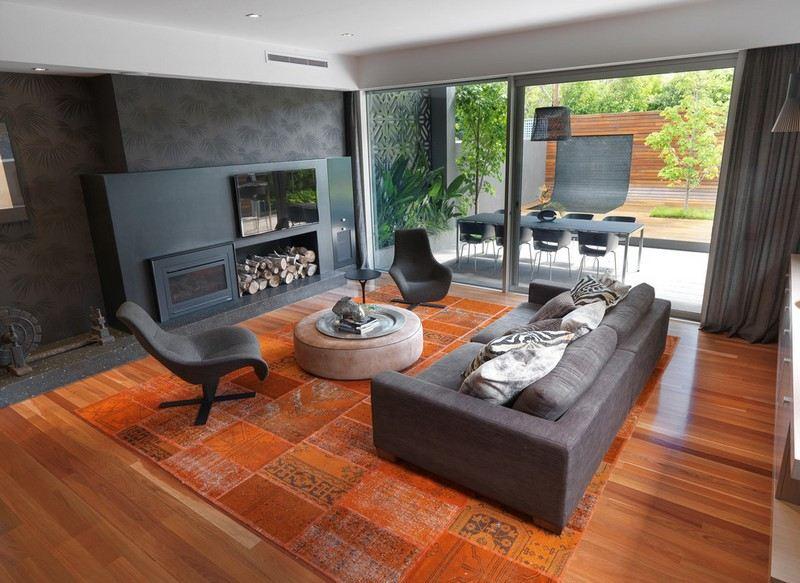 125 Wohnideen für Wohnzimmer und Design Beispiele - muster wohnzimmer