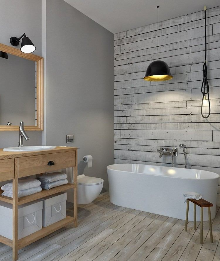 Bathrooms Without Tiles Ideas For Tiles Free Of Charge - Tapete Badezimmer
