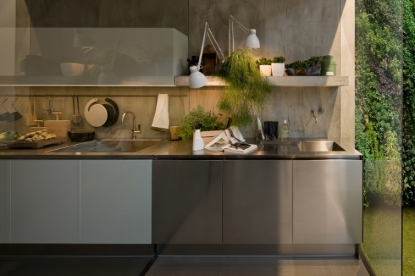 Italian Kitchens With Extremely Present Day Concepts   Gamma   Italienische  Kuechen Gamma Arclinea