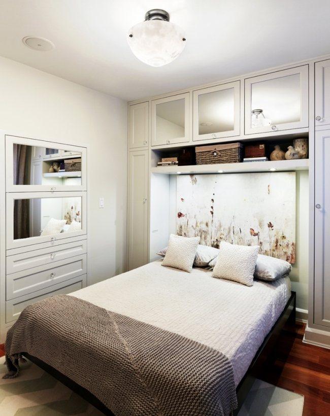Kleines Schlafzimmer einrichten - 25 Ideen für Raumplanung - kleine zimmer schon einrichten