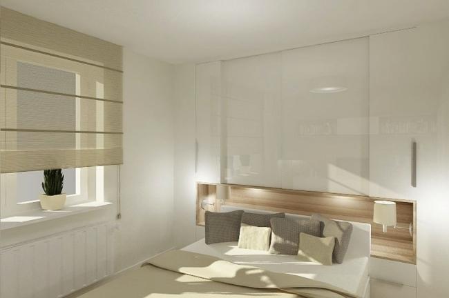 Kleines Schlafzimmer einrichten - 25 Ideen für Raumplanung - schlafzimmer einrichten holz
