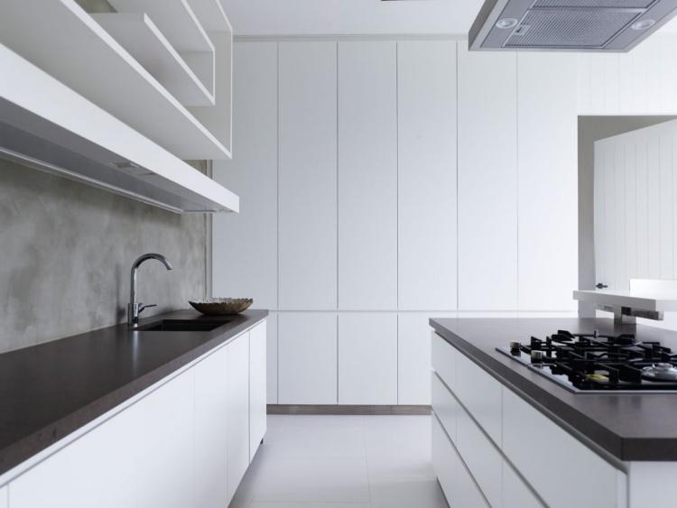 Moderne Hochglanz Küchen in Weiß - 25 Traumküchen mit Hochglanzfronten - weise moderne kuche