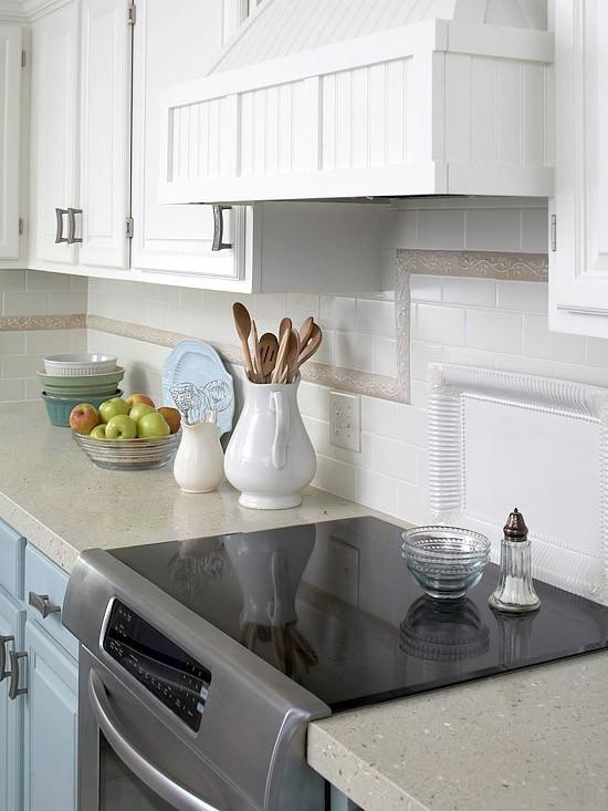 35 Ideen für Küchenrückwand Gestaltung-Fliesen,Glas,Stein - kuchenwandgestaltung ideen fliesen glas