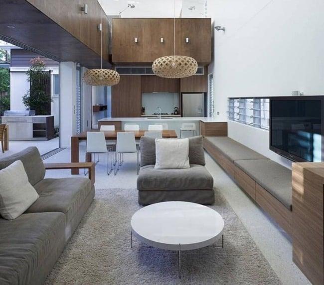 kuche wohnzimmer offen modern modernen elegante kche offen_deco offene kche modern wohnzimmer - Wohnzimmer Offen Gestaltet