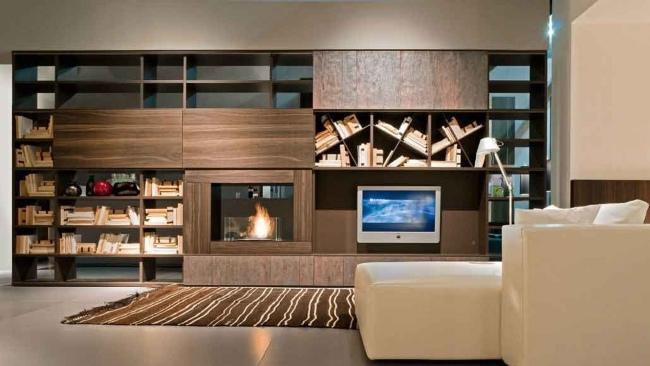 Aufbewahrungsmobel Wohnzimmer Pari Dispari Presotto - Design