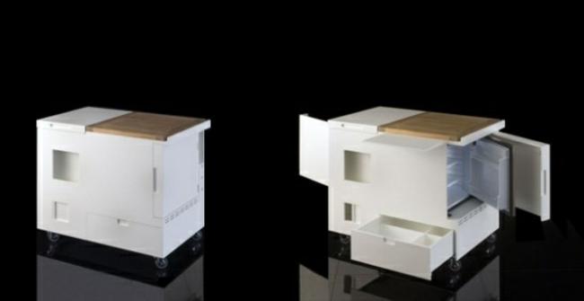 Miniküche Design kochkorinfo - kompaktes minikueche design konzept