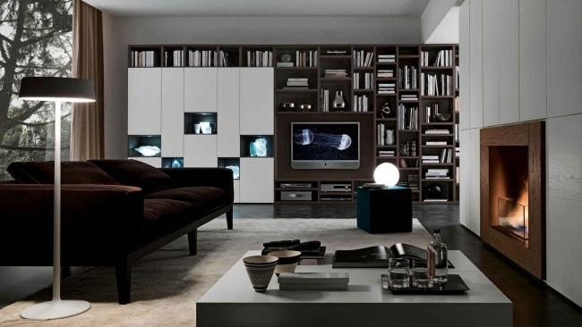 ... Bücherregal Systeme Von Presotto Italia U2013 Ein Highlight Im Wohnraum    Designer Mobel Bucherregal ...