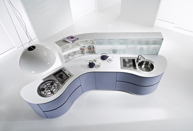 Schön Moderne Küchen Mit Grifflosen Fronten   Dune Kollektion Von Pedini   Moderne  Kuchen Grifflosen Fronten