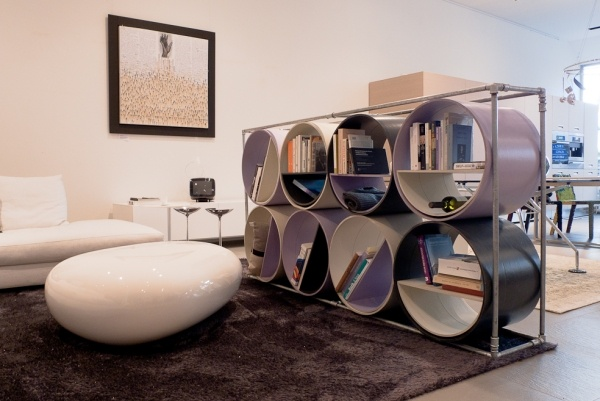 aluminium regal mit praktischem design lake walls | hausdesign ...