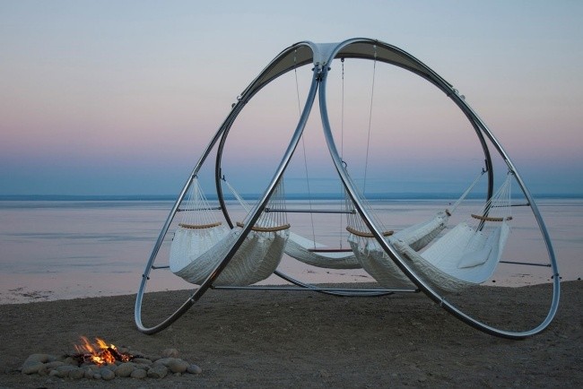 Moderne Hängematte Designs Für Drei Personen Sichern Komfort Im Garten   Hangematte  Designs Drei Personen