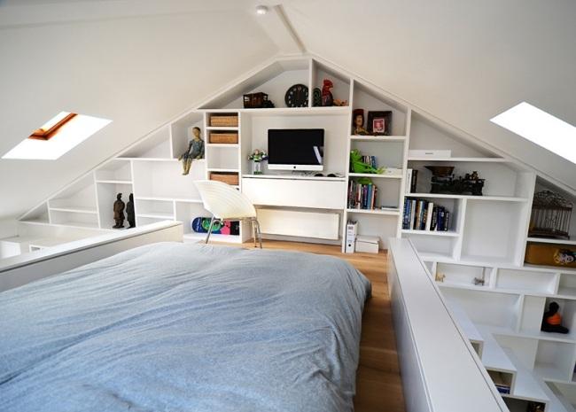 Schlafzimmer Einrichtung Dachgeschoss