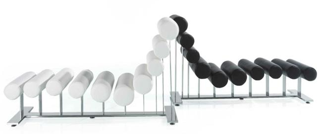 ... Nauhuri Lounge Sessel Echt Leder Schwarz ~ Neuesten Design   Lounge  Sessel Nomi ...