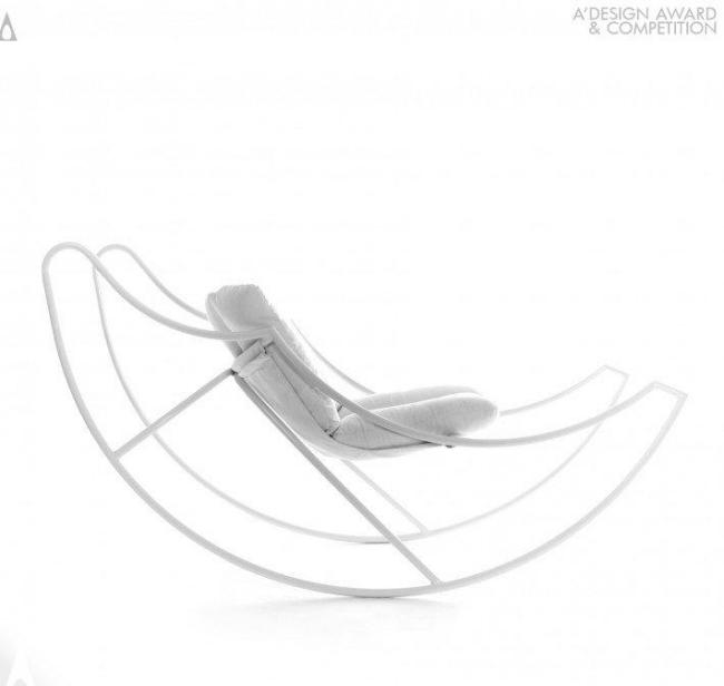 Design Schaukelstuhl Ali Di Luna von Stefania Vola liegt im Zeitgeist - design schaukelstuhl stefania vola liegt im zeitgeist