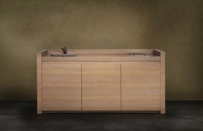12 Kompakte Küchen Designs kombinieren Funktionalität mit Komfort - kompaktes minikueche design konzept