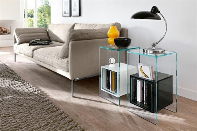 Awesome Der Kompakte Beistelltisch Im Wohnzimmer Platzsparende ...