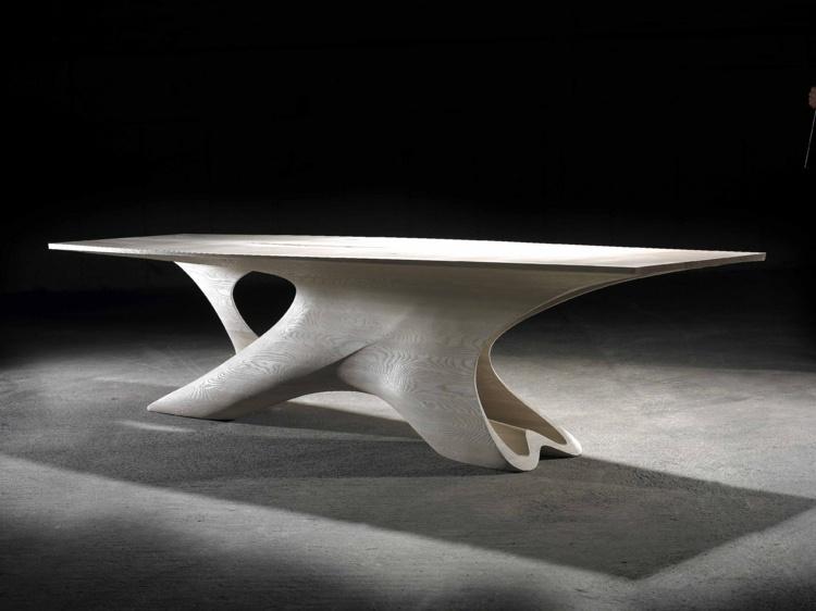 erstaunliches futuristisches esstisch design | node2009-hausdesign ...