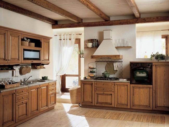 Schön Kuchenherd Im Landhausstil Design Ideen Holz Villawebinfo   Kuchenwerkzeuge  Aus Holz Valentin Bussard