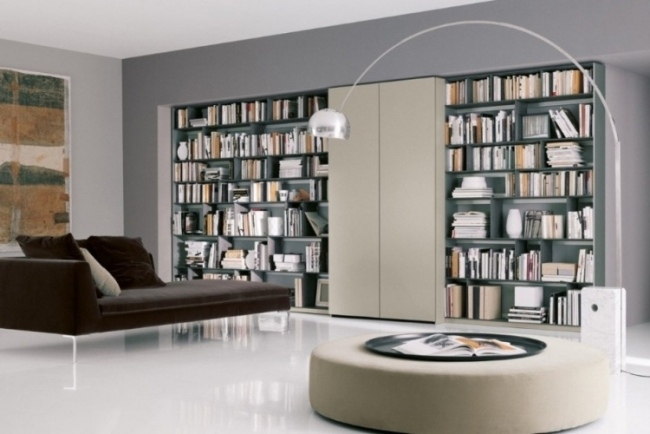 Emejing Ideen Bibliothek Zu Hause Gestalten Images - Ideas ...
