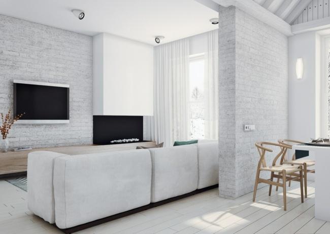 Dachschräge Wohnung
