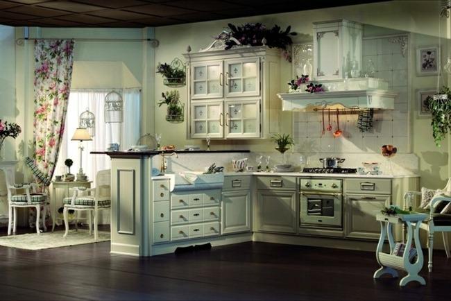 Landhauskuchen Mediterran ~ Innenarchitektur Und Möbel Inspiration    Landhauskuchen Im Toskanischen Stil