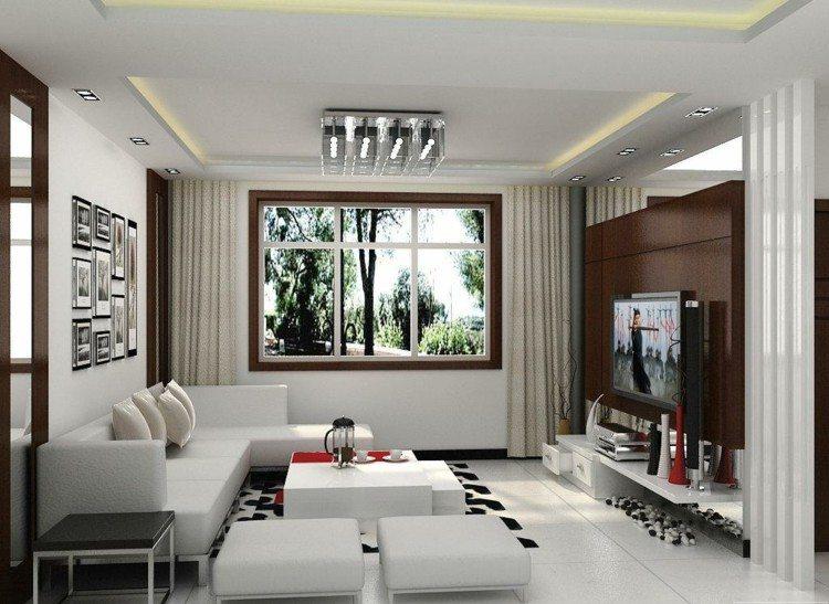 Modernes Wohnzimmer gestalten - 81 Wohnideen, Bilder, Deko und Möbel - wohnzimmer deko ideen