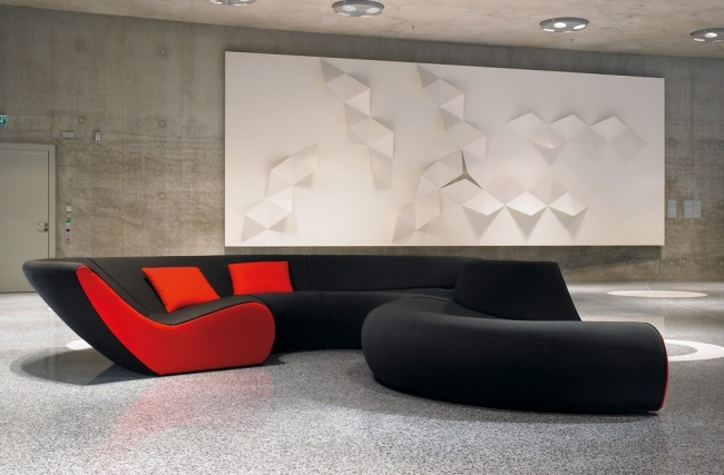 Modulares Sofa Design Circle von Walter Knoll u2013 der moderne Klassiker - moderne modulare kuche komfort