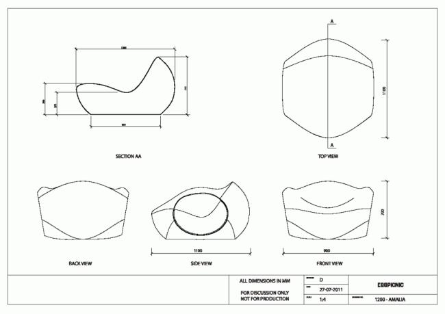 Amalia lounge sessel ergonomische form attraktiv design  Amalia Lounge Sessel Ergonomische Form Attraktiv Design. garten ...