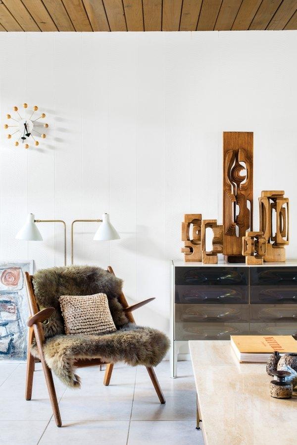 Skandinavischer Einrichtungsstil Wohnzimmer Wohnideen   Fell Decken  Kuschelige Mobel Gemutliches Heim