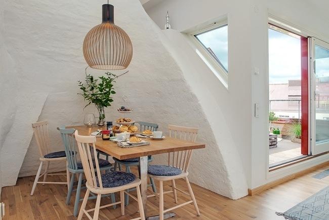 Dachwohnung Im Skandinavischen Stil - mystical.brandforesight.co