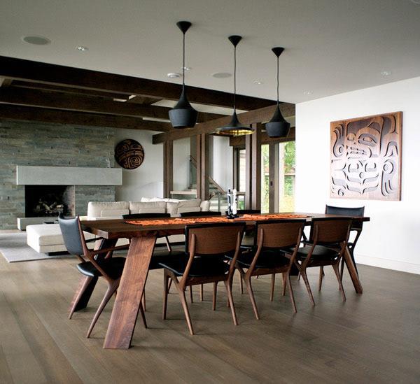 Esszimmer modern einrichten - Möbel, Farben \ Deko wählen - esszimmer aus holz