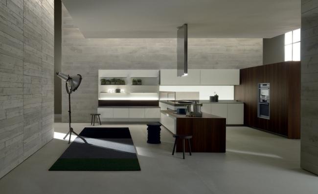 Moderne Einbauküche besticht durch minimalistische Ästhetik - moderne einbaukuche besticht durch minimalistische asthetik
