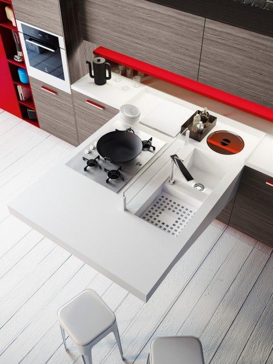 Kompakte Kuche Snaidero Board Villawebinfo   Kompakte Singlekuche Design