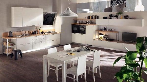 ... Moderne Design Küchen Von Scavolini Für Kleine Und Große Räume   Moderne  Design Kuechen Scavolini ...