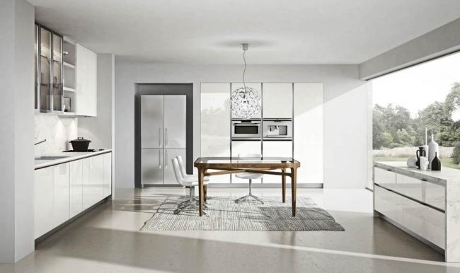 Moderne Kuchen Serie Domus Villawebinfo   Moderne Kuche Mit Dynamik  Modularitat Und Eleganz In Einem
