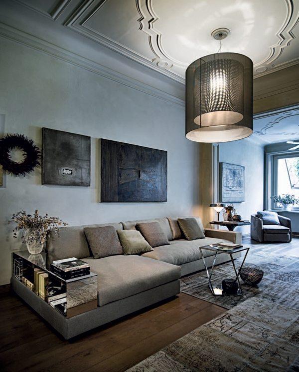 Design Sofa Plat Von Arketipo Mit Integriertem Regal Und   Design Sofa Plat  Von Arketipo Mit