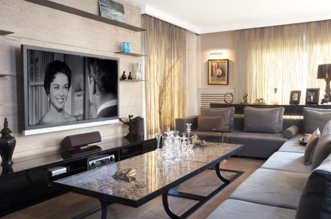 Heimkino einrichten u2013 Ideen und Tipps für optimale Raumgestaltung - heimkino wohnzimmer ideen
