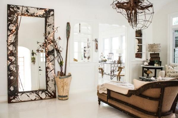 Ungewöhnlich Interieur Design Landhausstil Modernes Haus Florida ...