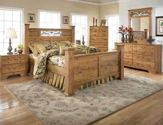 Einrichtung im Landhausstil u2013 rustikaler Charme und Behaglichkeit - schlafzimmer einrichten holz