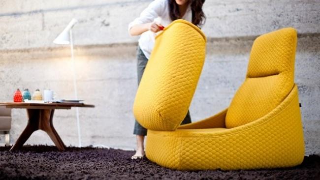... Lounge Sessel Beeindruckt Mit Modernem Design Und Asymmetrischer   Lounge  Sessel Nomi ...