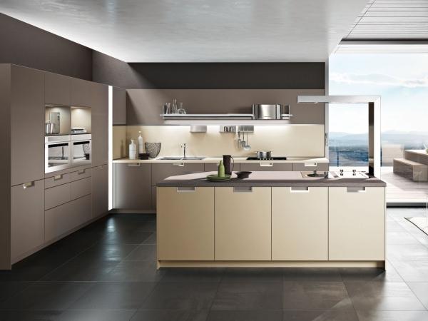 Die Snaidero Küchen - 25 italienische Küchen Designs im modernen Stil - beige kuche