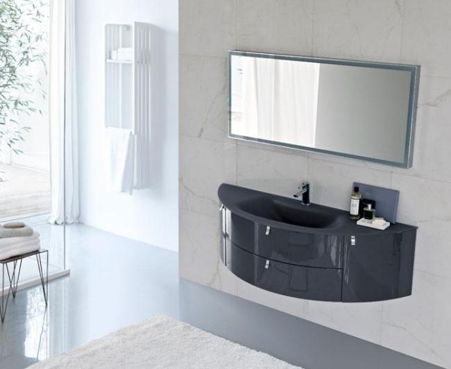 ... Ideen Für Badmöbel Design   Moderne Und Minimalistische Waschtische    Italienische Designermobel Minimalistischer Ausfuhrung ...