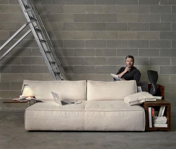 ... 33 Ideen Für Wohnzimmer Garnitur  Ultrabequeme Sessel Und Sofa Designs    Designer Couch Modelle Komfort ...