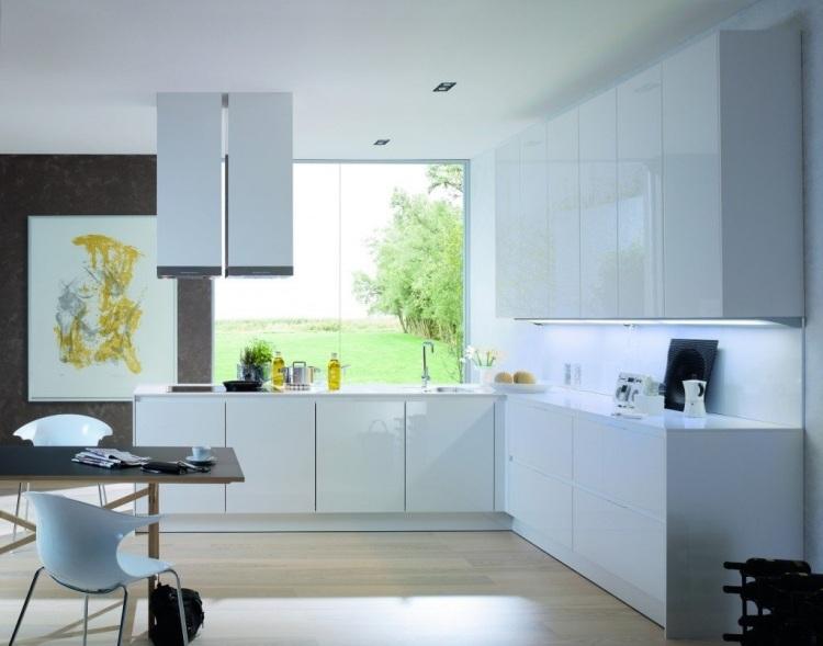 Moderne einbaukuche farbe fronten hausbillybullock - moderne einbaukuche besticht durch minimalistische asthetik