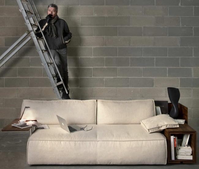 coole designer sofas in lebhaften farben von bretz brothers und ... - Designer Couch Modelle Komfort