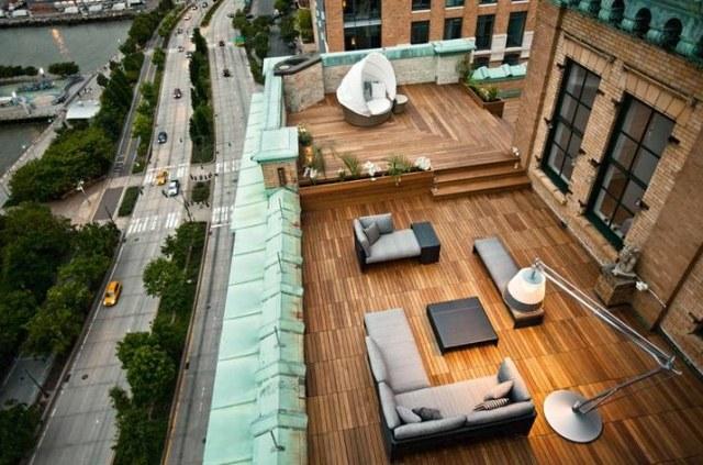 Gemutliche Dachterrasse Gestalten Einrichtungslosungen